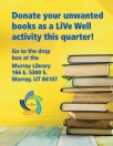 LiVe Well book donation